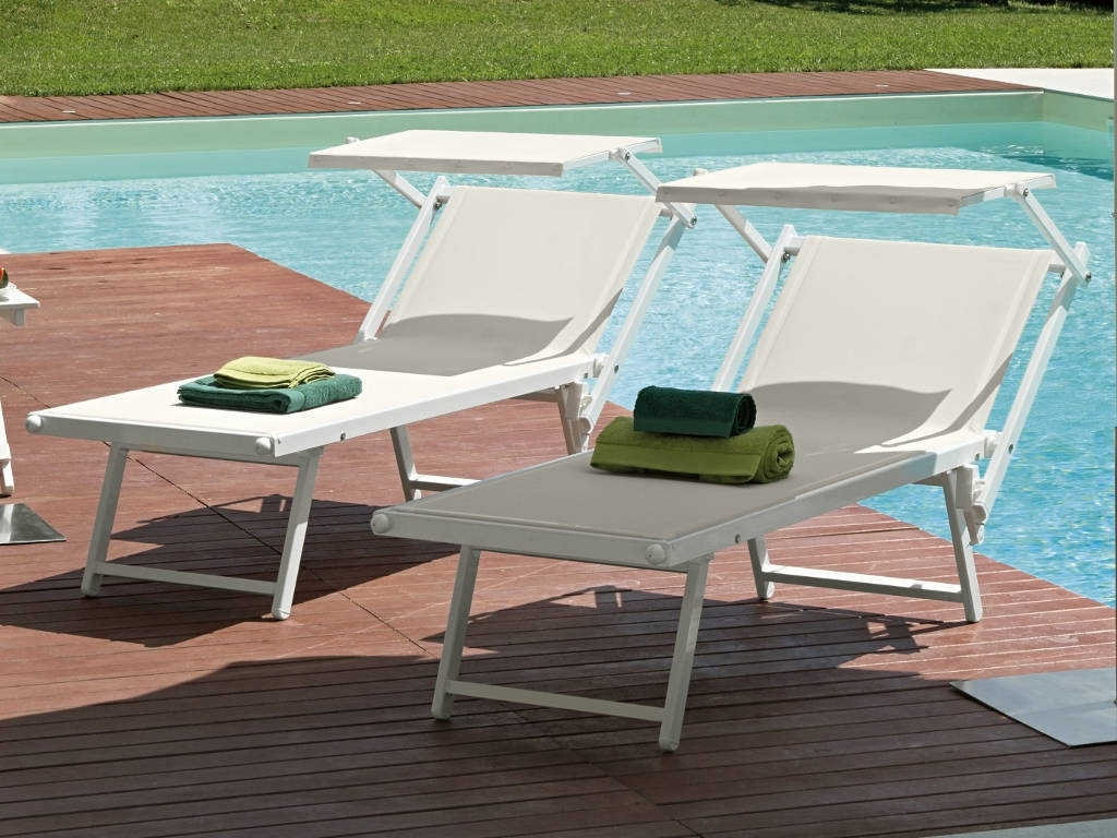 Arredo outdoor per piscine fiam - Lettini per piscina ...