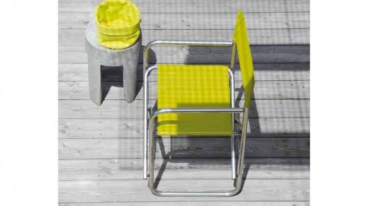 Regista sedie da giardino