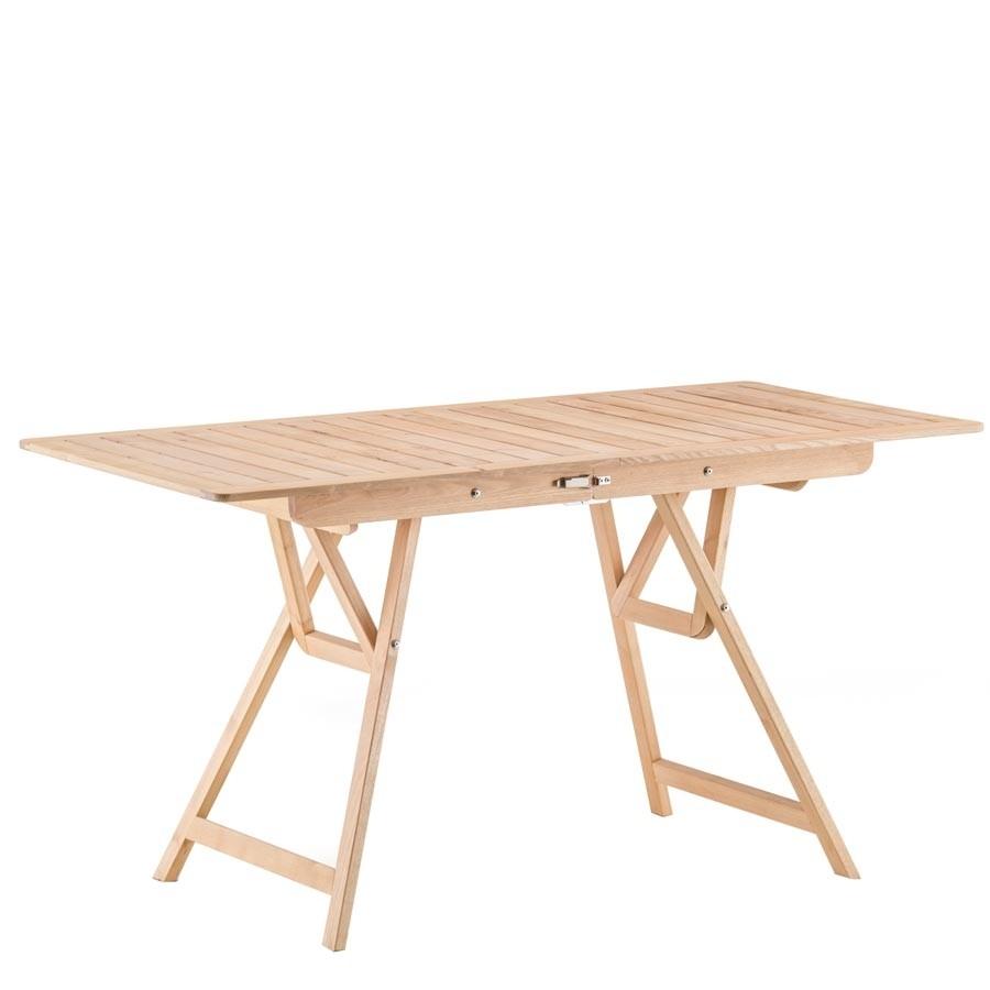 Robin 140 tavolo richiudibile in robinia fiam for Tavolo richiudibile in legno