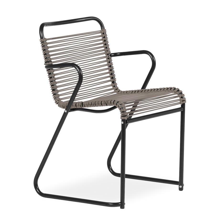Sedia lido sedia da esterno con braccioli in alluminio for Sedie alluminio
