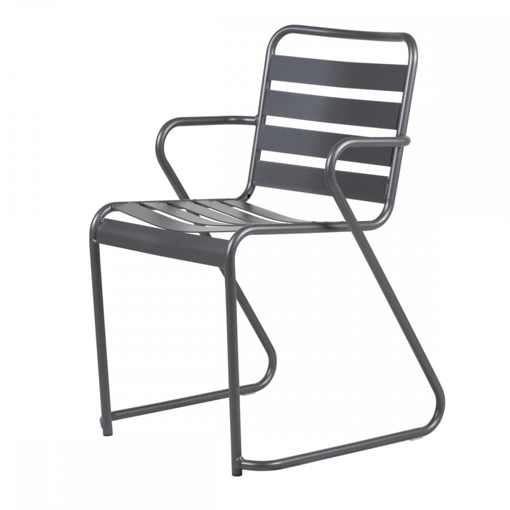 Sedie Da Esterno Con Braccioli.Sedia Lido Metal Sedia Da Esterno Con Braccioli In Alluminio Fiam